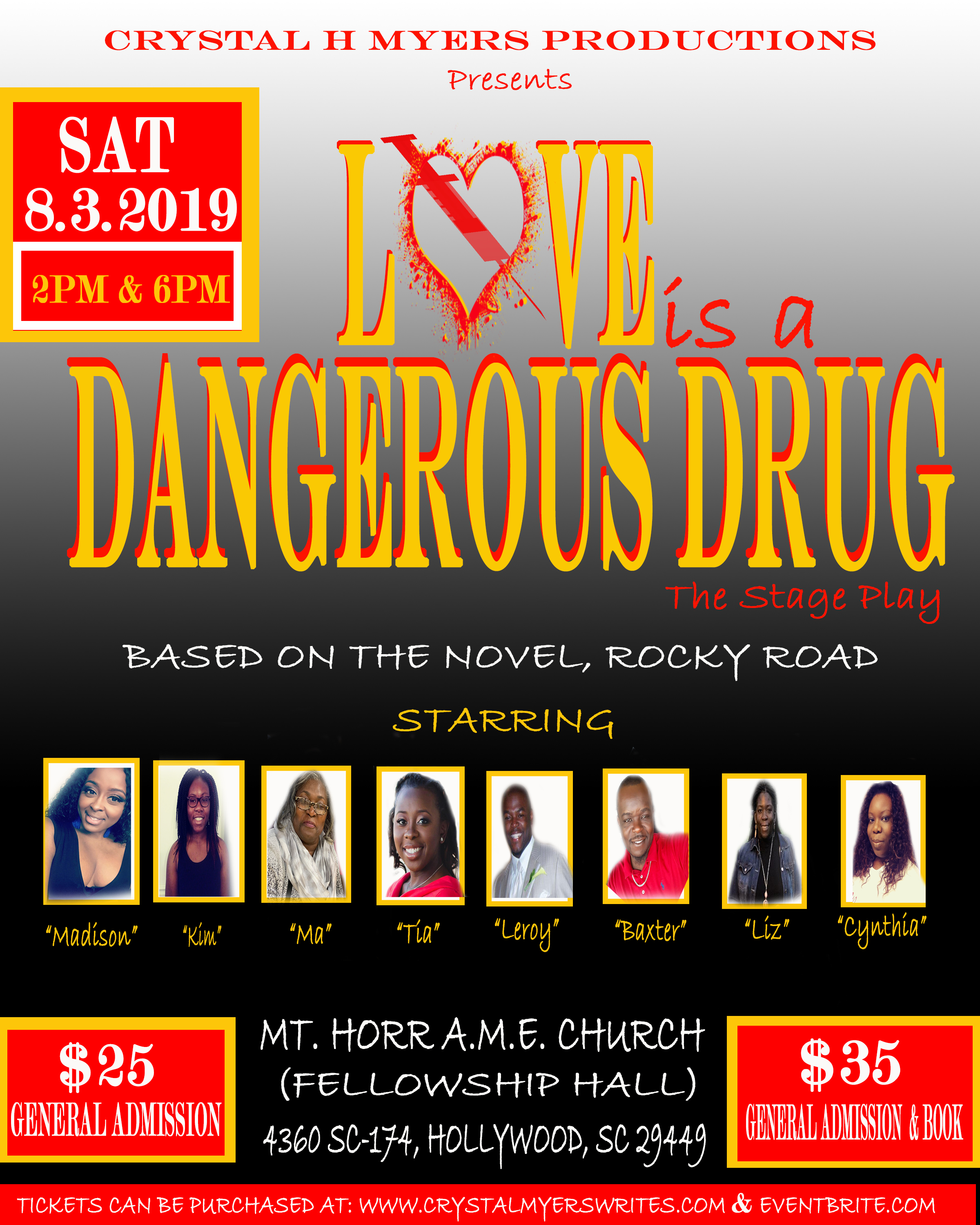 OFFICAL LOVE IS A DANGEROUS DRUG FLYER