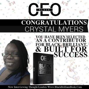 black brilliant build for success