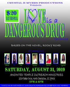 THE ENCORE LOVE IS A DANGEROUS DRUG FLYER
