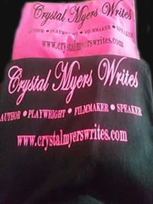 Crystal Myers Writes Shirt